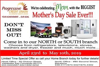 Mother's Day Flyer Sale website